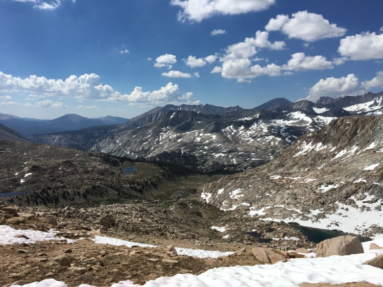 Colby Pass, the High Sierra.